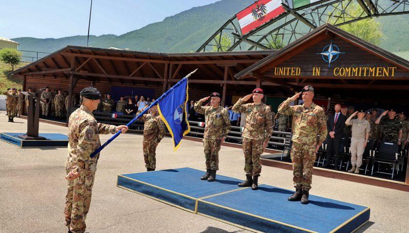 Missione in Kosovo: l'8° Pasubio di Persano torna a casa