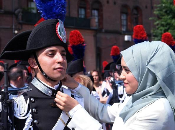 Bergamo, il carabiniere musulmano che ha realizzato il sogno di arruolarsi nell'Arma