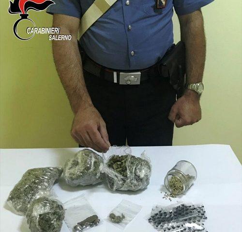 Buonabitacolo, arrestato 23enne per detenzione e spaccio di stupefacenti