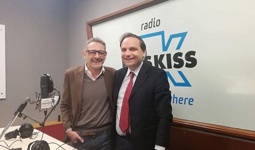 Universiade: Radio Kiss Kiss, radio ufficiale
