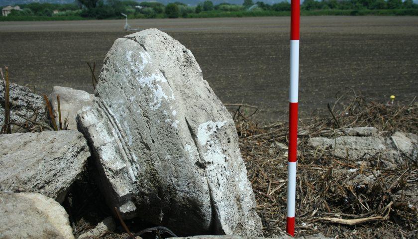Paestum: trovato un altro monumento dorico