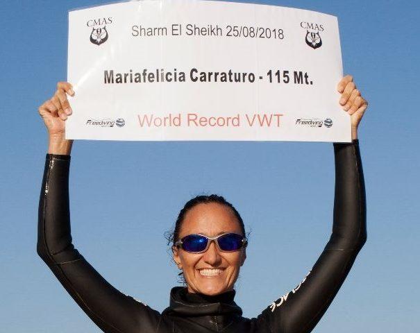 """Una pinna da record, Mariafelicia Carraturo sarà la """"Sirena Partenope"""" della cerimonia inaugurale delle Universiadi"""