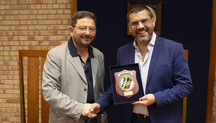 Fisciano: consegnato al rettore Tommasetti il Premio Accademia Olimpica