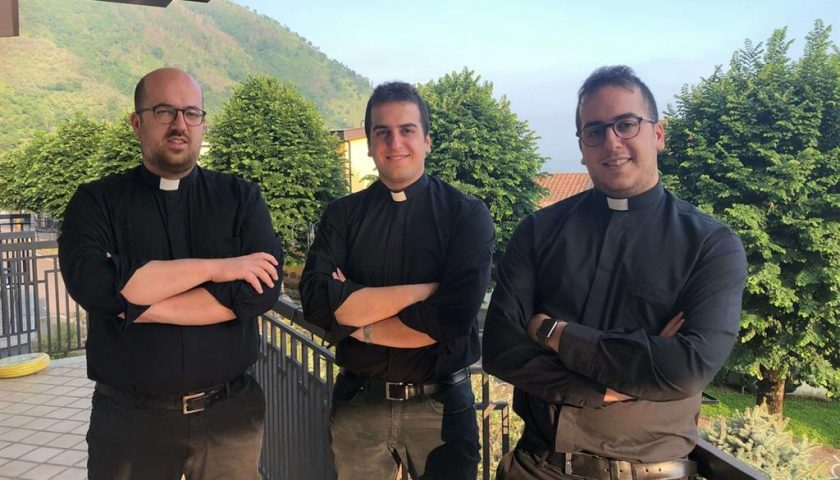 Salerno: tre fratelli diventano sacerdoti