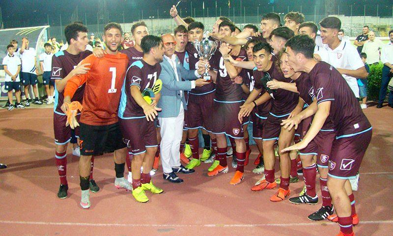 """Alla Salernitana il XXX """"Città di Cava de' Tirreni"""", la Nazionale Lega Pro trionfa nei Giovanissimi"""
