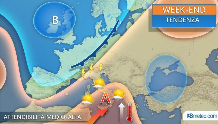 Meteo: in arrivo la prima ondata di caldo africano dell'estate, ma i temporali restano in agguato al Nord