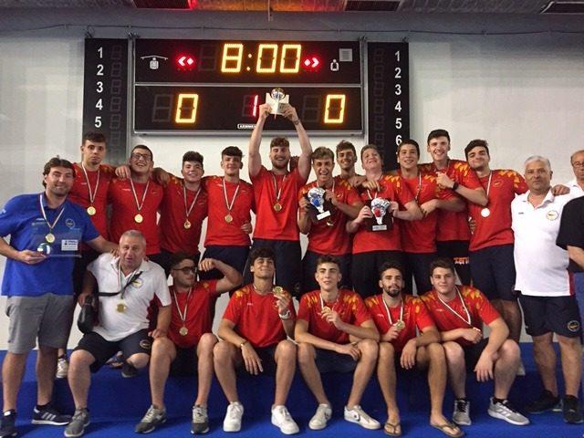 Campionato Under 20 cat.B: La Rari Nantes Salerno è campione d'Italia per il secondo anno consecutivo