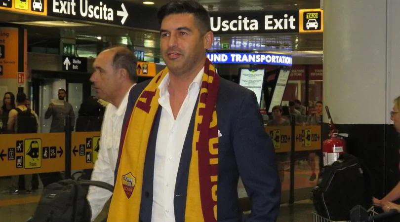 """Paulo Fonseca è sbarcato a Roma: """"Felice e motivato"""""""