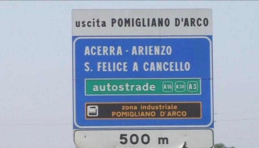 Autostrada A16: nella notte tra domani e venerdì chiusa la stazione di Pomigliano, in entrata verso Napoli e in uscita per chi proviene da Canosa