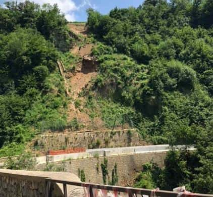 Tramonti: da Regione 250mila euro per bonifica fronte franoso SP2 a Pucara