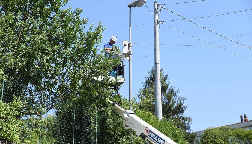 Salerno: il sindaco Napoli e il parlamentare De Luca presenti al via dei lavori per l'impianto di videosorveglianza a Cappelle