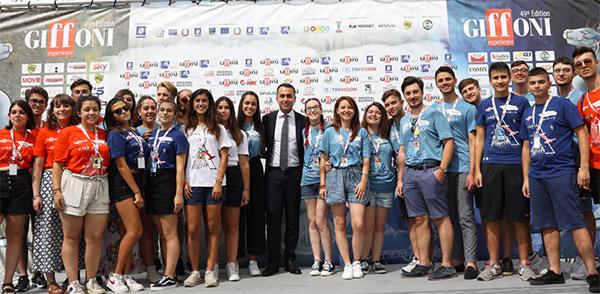 """Il Vicepremier Di Maio al Giffoni Film Festival: """"Qui vero modello di innovazione"""""""