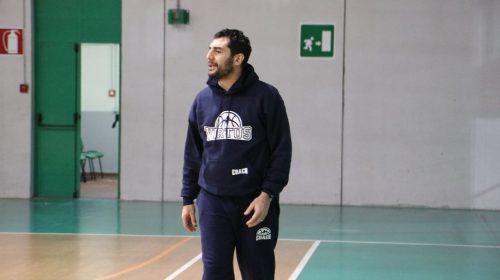 Hippo Basket Salerno, lo staff tecnico del Settore Giovanile potrà contare su Francesco Corrado