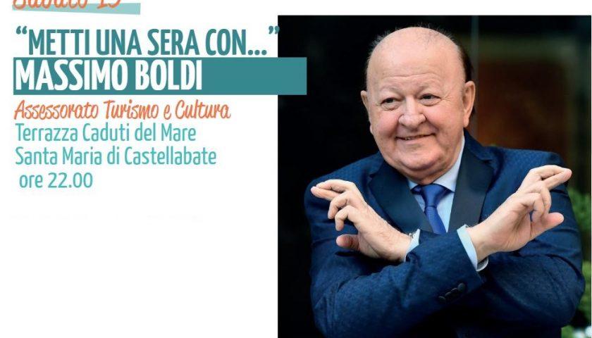 Castellabate, metti una sera con… Massimo Boldi