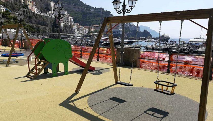 Amalfi: nasce il parco giochi col panorama più bello del mondo