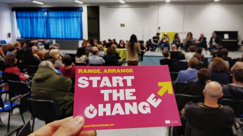 "Amnesty International Italia alla 49esima edizione del Giffoni Film Festival col suo progetto ""Start the change!"""