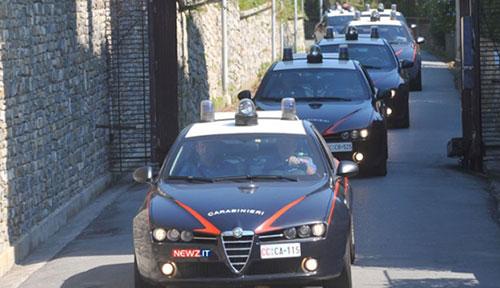 Valle del Sele: operazione dei Carabinieri, 18 arresti