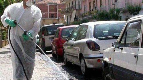 Salerno, al via programma di disinfestazione in strade e parchi della città: si comincia da stasera