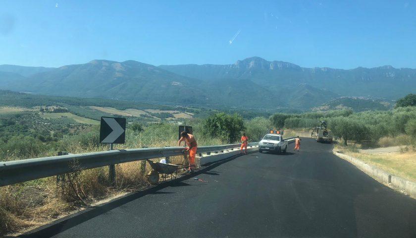 Strada Provinciale 142: sabato a Campora la consegna lavori di completamento e adeguamento funzionale