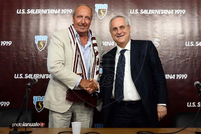 """Lotito: """"Ventura uomo giusto per Salerno. Vogliamo raggiungere il massimo"""""""