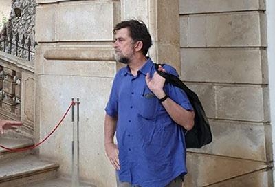 Nanni Moretti alla Certosa di Padula: «Estasiato da tanta bellezza»