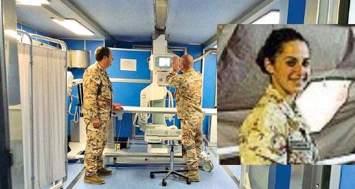 """Libia: nell'ospedale sotto le bombe di Misurata lavora anche una """"marescialla"""" di Auletta"""