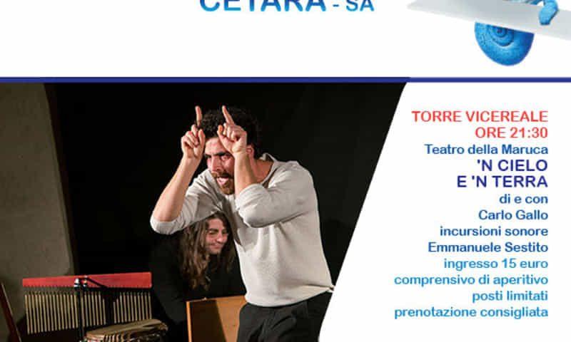 Spettacolo nella torre vicereale: a Cetara torna Teatri in blu 7-8 luglio