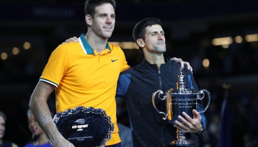 Tennis: Novak Djokovic e Juan Martin Del Potro rinunciano al Masters 1000 di Montreal