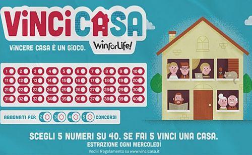 Sarno: gioca 4 euro e vince una casa e 200mila euro in contanti