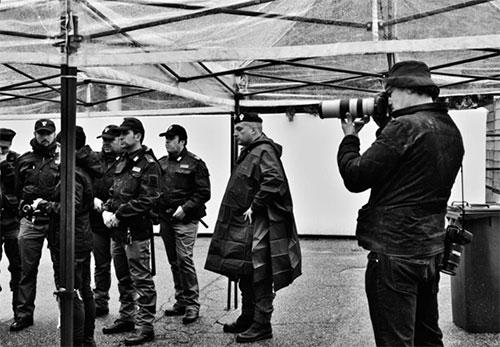 Paolo Pellegrin firma il Calendario della Polizia di Stato 2020