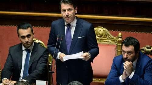 """Crisi di governo, Conte al Senato: """"Salvini ha inseguito interessi personali"""""""