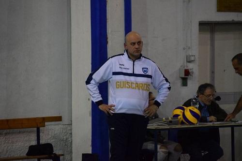 Polisportiva Salerno Guiscards, Francesco Tescione confermato alla guida del team volley
