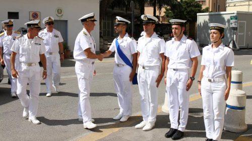 Capitaneria di Porto di Salerno: visita del Comandante Generale del Corpo delle Capitanerie di Porto, Ammiraglio Ispettore Capo Giovanni Pettorino