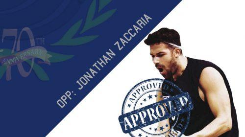 Indomita Salerno, torna l'opposto Jonathan Zaccaria