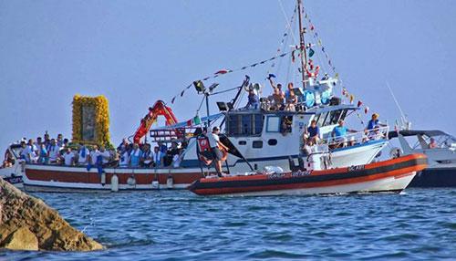 """Salerno: oggi la consueta processione in onore della """"Madonna che viene dal Mare"""""""
