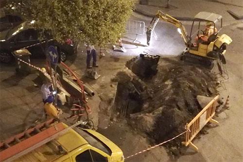 Salerno: continui black out tra Pastena e Torrione, operai al lavoro