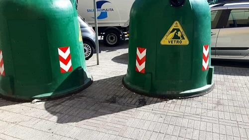 Salerno, arrivano 80 nuove campane per la raccolta del vetro
