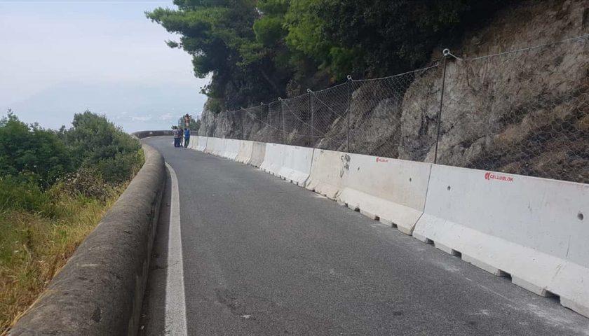 Viabilità in Costiera Amalfitana: in serata l'apertura della strada Capo d'Orso
