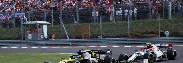 Rubano magliette al Gran Premio F1 in Ungheria, presi in due a Nocera