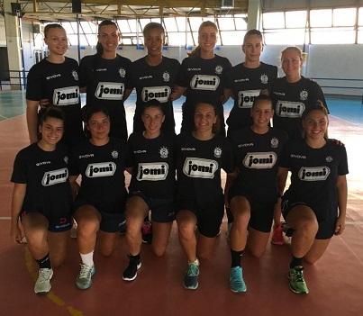 Nuova stagione e nuovo capitano in casa Jomi Salerno: fascia a Pina Napoletano, Dalla Costa vice