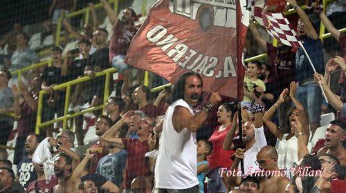 Tutti uniti all'Arechi: in vendita i biglietti per Salernitana – Perugia