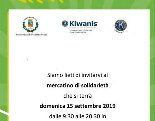 Domani in città il mercatino solidale organizzato dal Club Kiwanis Salerno