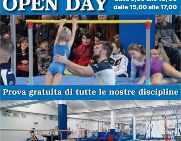 """Ginnastica Salerno: Open Day al """"Palazzetto Acquamare Sport"""" con i Campioni d'Italia"""