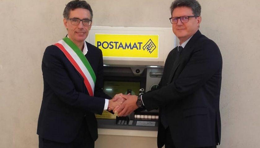 A Castelnuovo Cilento installato il primo sportello automatico ATM Postamat