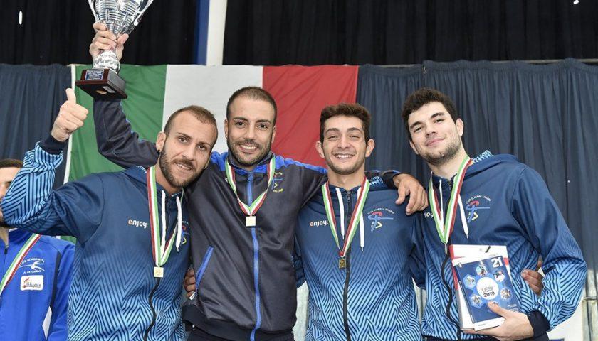 Club Scherma Salerno nella storia, vince la Coppa Italia contro il CS Pisa Di Ciolo