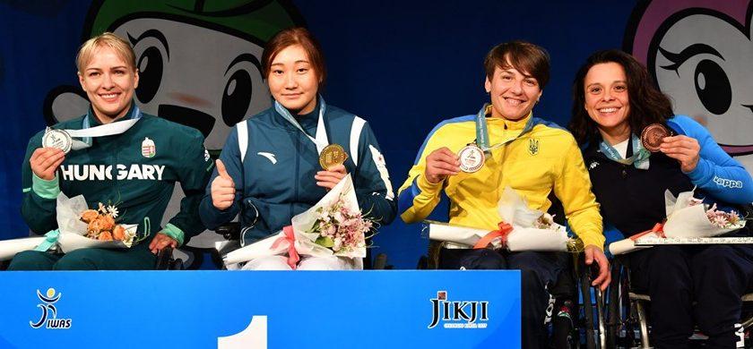 Mondiali Paralimpici, bronzo per Rossana Pasquino