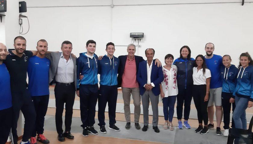 Presentato il Club Scherma Salerno, domani assalto alla Coppa Italia di fioretto a squadre