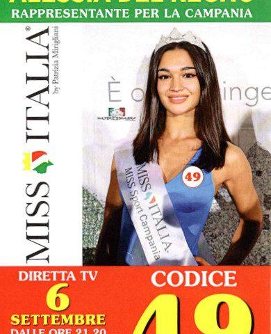 Alessia Del Regno, da Piazza di Pandola a Miss Italia