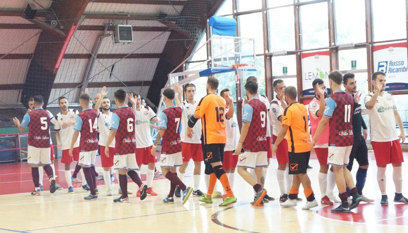 Calcio a 5, sconfitta di misura per l'Alma Salerno contro il Potenza in Coppa Italia