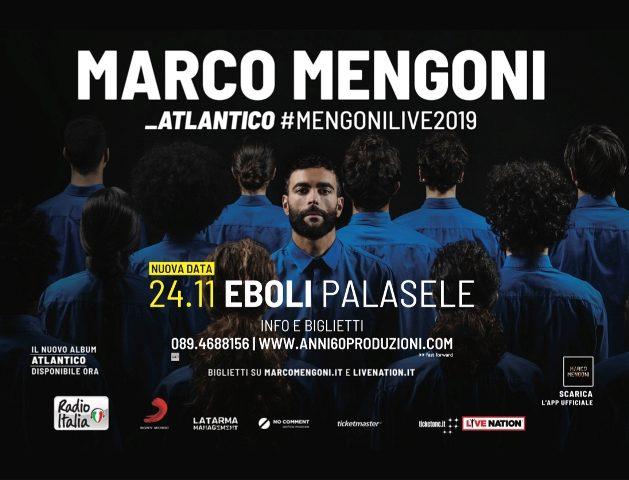 Marco Mengoni torna al Pala Sele, da domani via alla prevendita dei biglietti